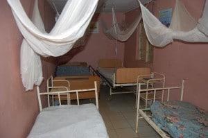 1 salle d'hospitalisation