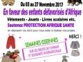 Affiche - Collecte de dons - Crêche-Issy-Les-Moulineaux