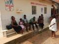 Campagne au centre de santé