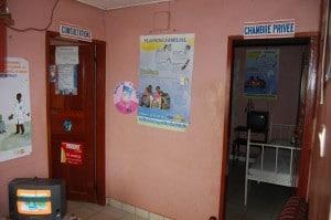 Entrée - consultation, chambre privée